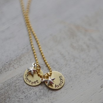 Golden Family Necklace